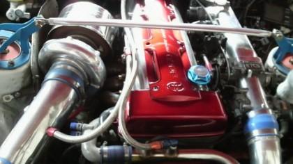 Daigo`s 2009 D1 Japan Supra engine